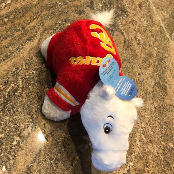 usc pillow pet trojan white horse